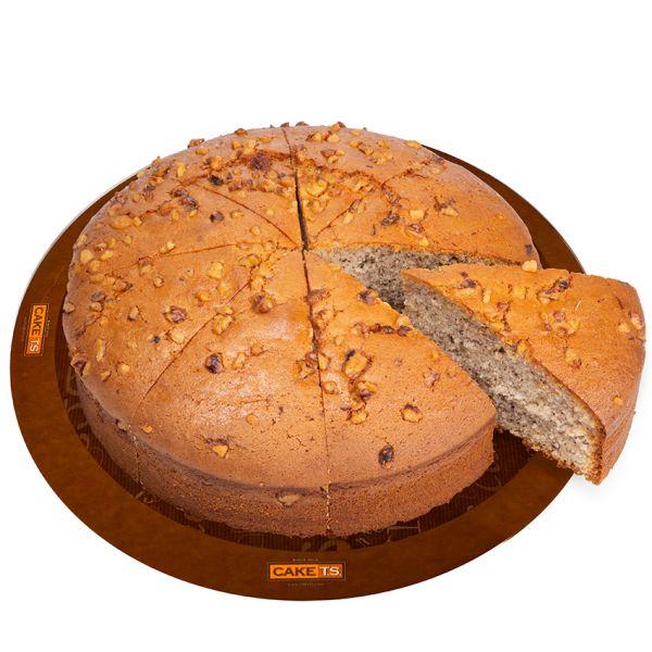 کیک گردویی کافی شاپی