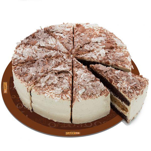 کیک موکا کافی شاپی