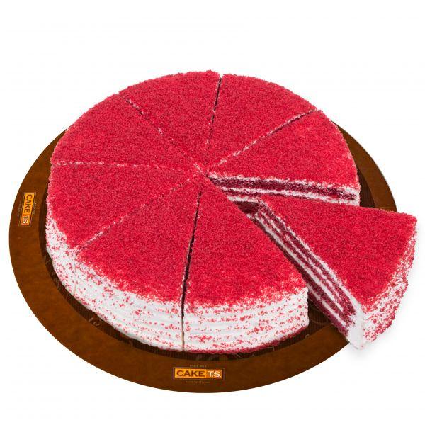 کیک ردولوت کافی شاپی