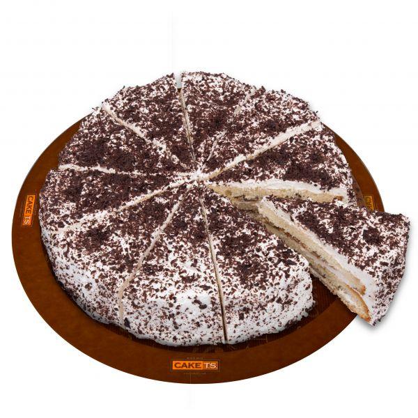 کیک موزگردو کافی شاپی