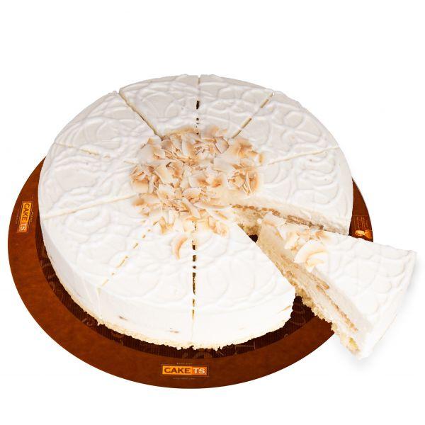 کیک شیر نارگیل کافی شاپی