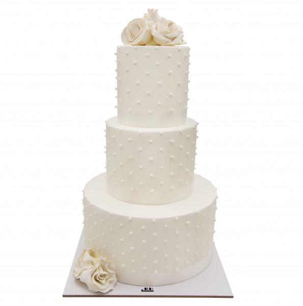 کیک عروسی رز عروس