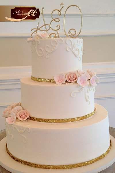 کیک عروسی الهام