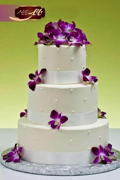 کیک عروسی ارکیده 3