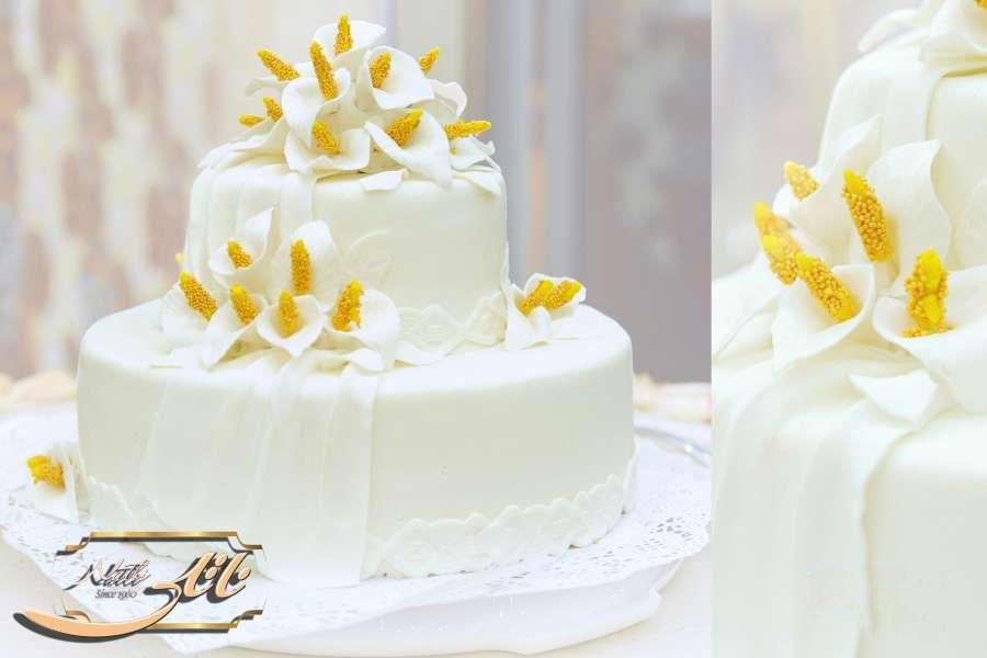 کیک عروسی زرین گل 2