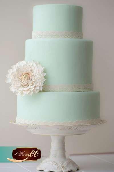 کیک عروسی فیروزه 3