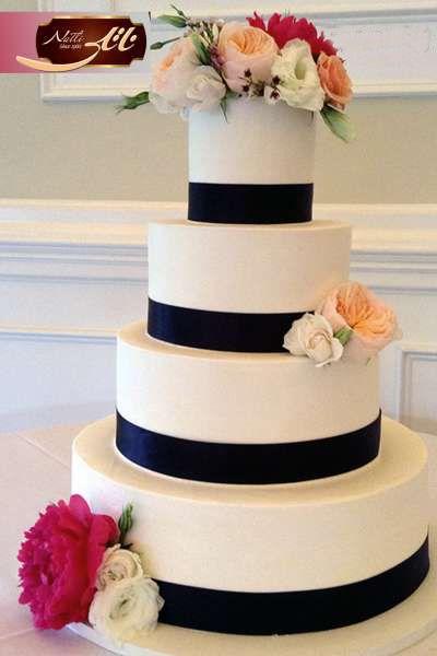 کیک عروسی طبقاتی گلبهار