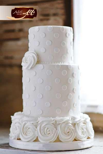 کیک عروسی گیس گل