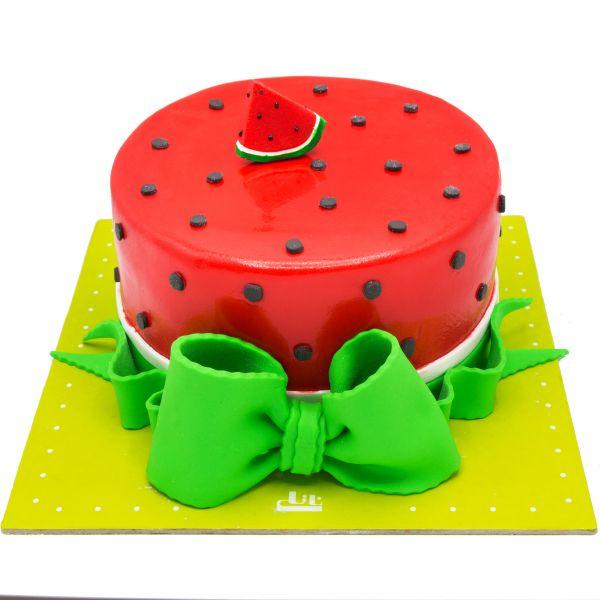کیک هندوانه لاکچری