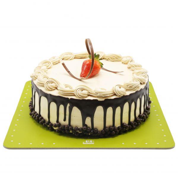 کیک ساده نسکافه ای