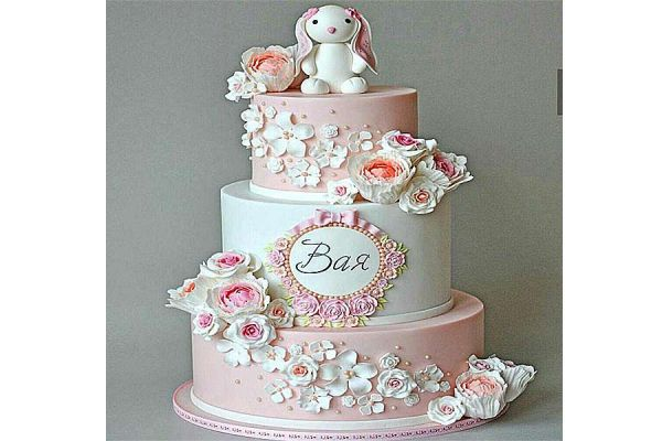 کیک تولد دخترانه خرگوش کوچولو