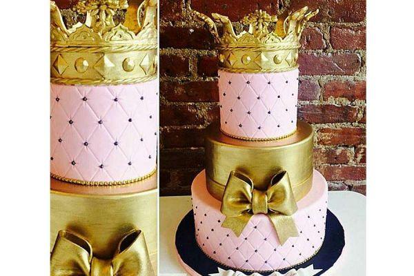 کیک عروسی عروس سلطان