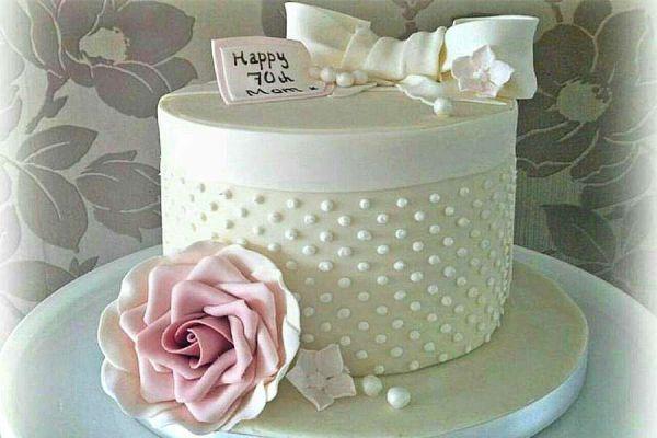 کیک نامزدی مروارید سپید 2