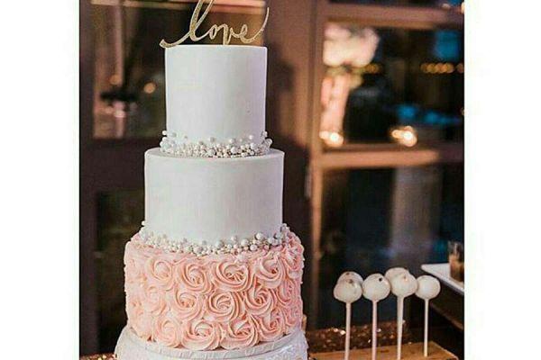 کیک عروسی سارا