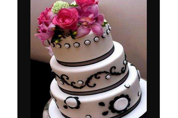 کیک عروسی گلبهار
