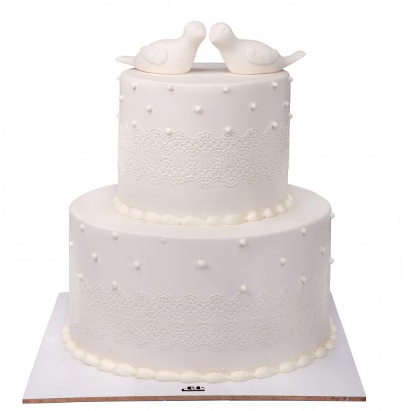 کیک عروسی آوای عشق