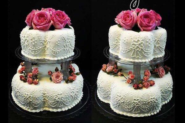 کیک عروسی تینا