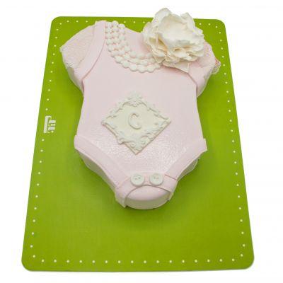 کیک لباس نوزادی