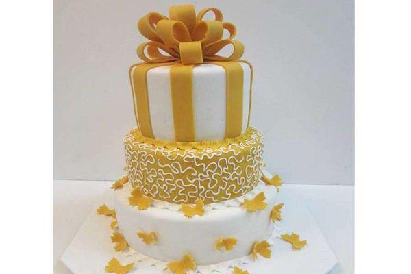 کیک عروسی زرین