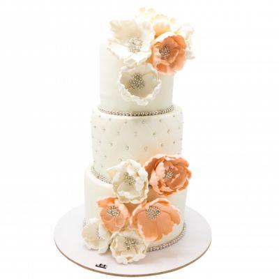 کیک عروسی ارغوان