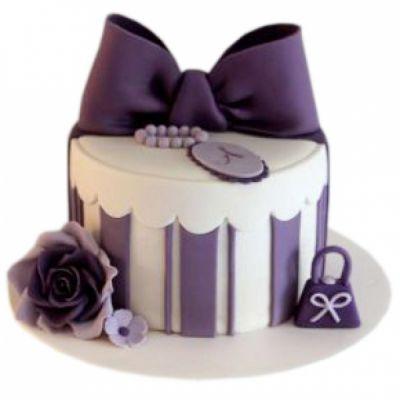 کیک تولد دخترانه دلبر