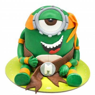 کیک تولد مینیون خندان