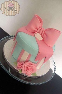 کیک تولد دخترانه ثمین