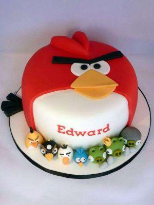 کیک تولد پرندگان خشمگین 5
