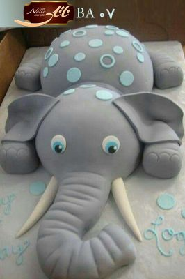 کیک سفارشی تولد BA07