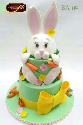 کیک تولد خرگوش 1
