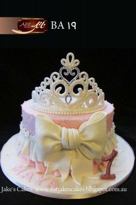 کیک سفارشی تولد BA19
