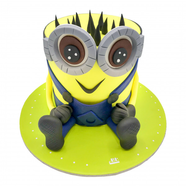 کیک تولد مینیون شیطون