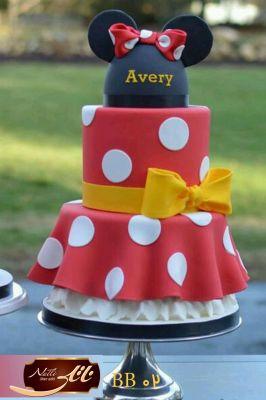 کیک سفارشی تولد  BB02
