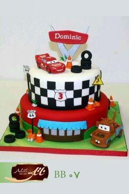 کیک سفارشی تولد  BB07