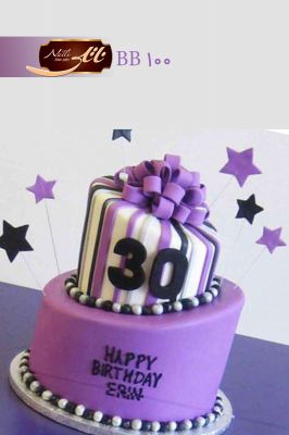 کیک سفارشی تولد BB100
