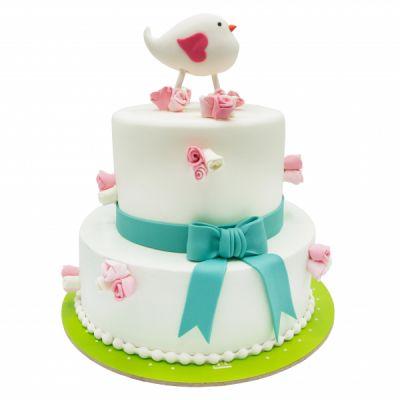کیک پرنده