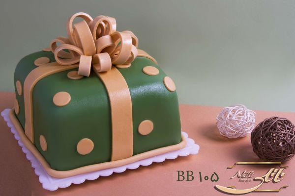 کیک سفارشی تولد BB105