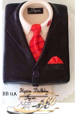 کیک سفارشی تولد  BB118