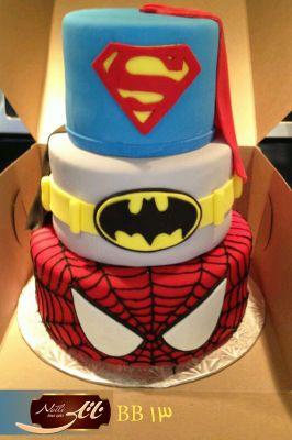 کیک سفارشی تولد  BB13