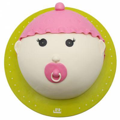 کیک نوزاد دختر