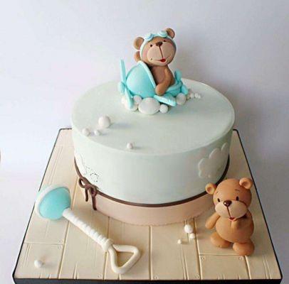 کیک تولد خرس های کوچولو