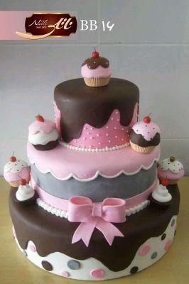 کیک سفارشی تولد  BB16