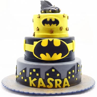 کیک تولد پسرانه بتمن 4