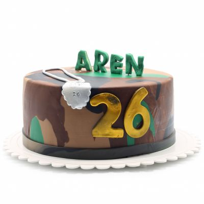 کیک تولد پسرانه چریک