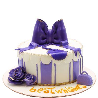 کیک تولد دخترانه طوبی