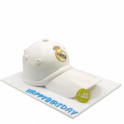 کیک تولد کلاه رئال مادرید