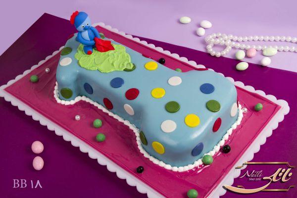 کیک سفارشی تولد  BB18
