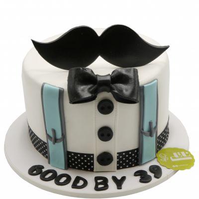 کیک تولد پسرانه سیبیل