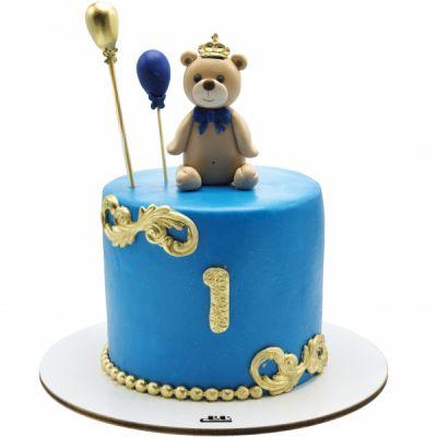 کیک تولد خرس شاه