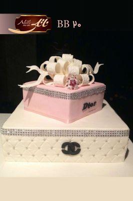 کیک تولد دخترانه شنل 1